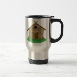 Log Cabin Coffee Mugs