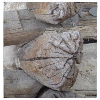 Log Cabin Napkin