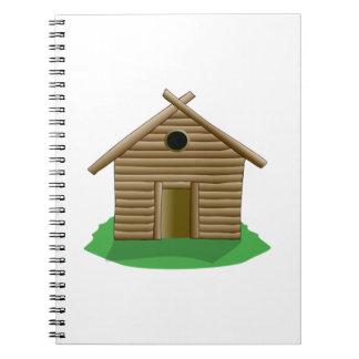 Log Cabin Note Book