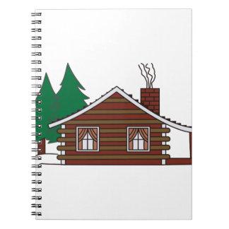 Log Cabin Notebooks