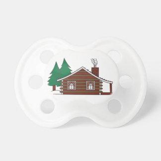 Log Cabin Pacifier