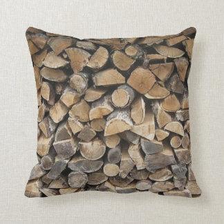 Log cabin pillow cushions