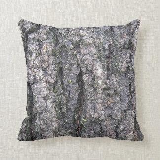 Log cabin pillow throw cushion