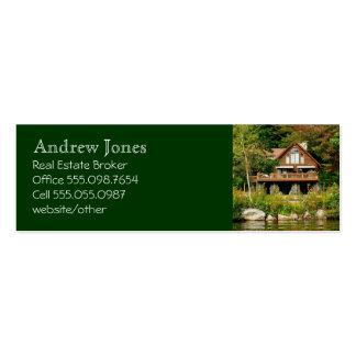 Log Cabin Realtor s Custom Business Card
