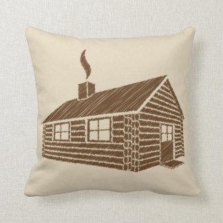 Log Cabin   Sketch Cushion