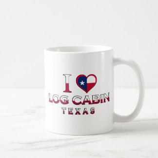 Log Cabin, Texas Coffee Mug
