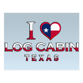 Log Cabin, Texas Post Cards