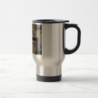 Log Cabin travel cup Stainless Steel Travel Mug
