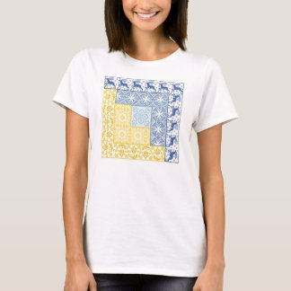 Log Cabin Winter T-Shirt