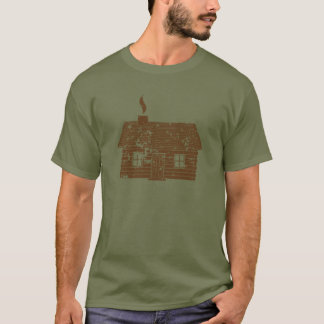 Log Cabin | Worn T-Shirt