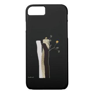 Log Flowers iPhone 8/7 Case