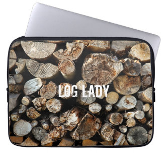 Log Lady by Uname_ Laptop Computer Sleeve
