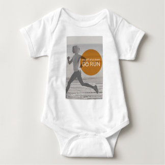 Log Off Shut Down Go Run Baby Bodysuit