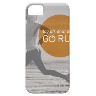 Log Off Shut Down Go Run Barely There iPhone 5 Case