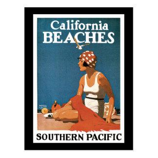 Logan California Beaches Postcard