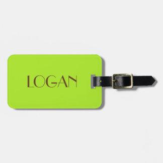 Logan Luggage Tag for Travel