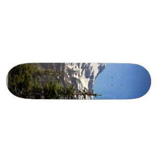 Logan Pass In Glacier National Park Skate Board Deck