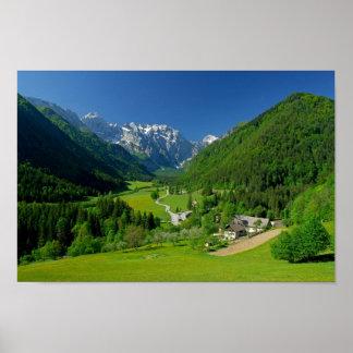 Logarska dolina Slovenia Poster