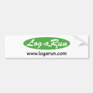 Logarun.com Bumper Sticker
