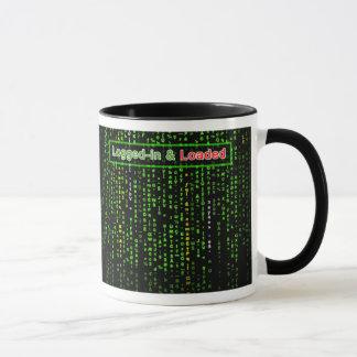 Logged-in and Loaded Mug