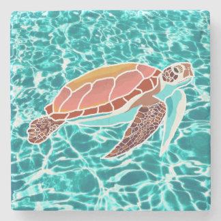 Loggerhead Sea Turtle Drink Coaster