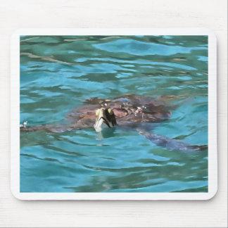 Loggerhead Sea Turtle Mouse Pad