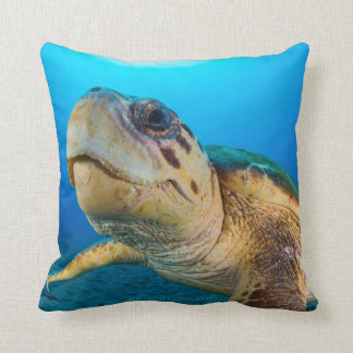 Loggerhead Selfie Cushion