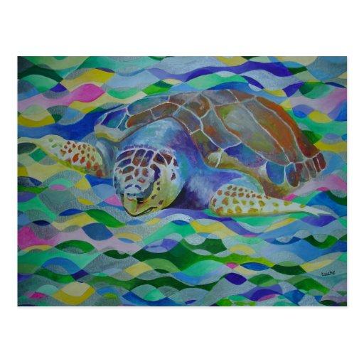 Loggerhead Turtle Postcards