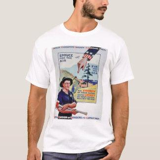 Loggers and Lumbermen Aid the War Effort (US02118) T-Shirt