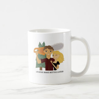 Loggers Make Better Lovers Coffee Mug
