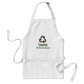 Logging: Green Industry Standard Apron