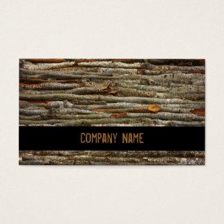 Logging Ranks Business Card