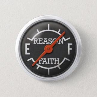 Logic gauge 6 cm round badge