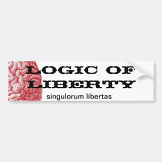 Logic Of Liberty bumper sticker
