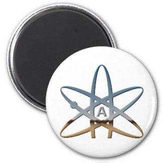Logidea atheist atomic symbol magnet