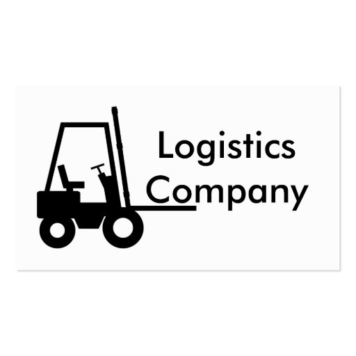 Logistics Company Business Card Templates