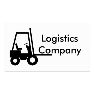 Logistics Company Pack Of Standard Business Cards