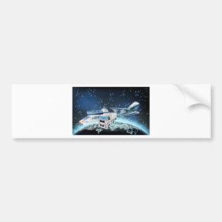 Logistics Globe Concept Bumper Sticker