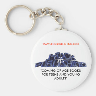 "logo 12 copy.jpgnoback, ""COMING OF AGE BOOKS FO... Basic Round Button Key Ring"