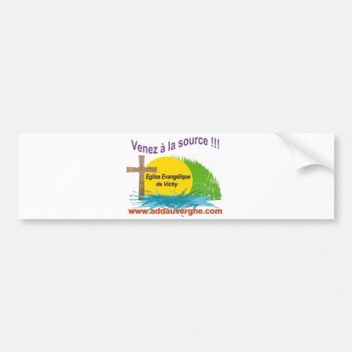 Logo ADD  Eglise Evangélique Bumper Sticker