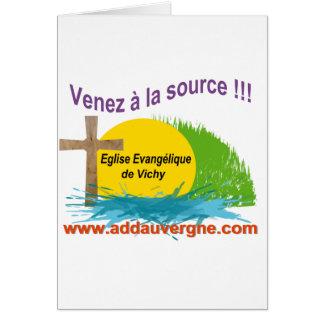 Logo ADD  Eglise Evangélique Greeting Card