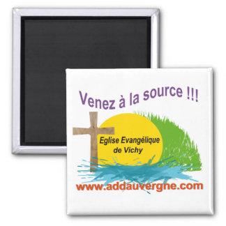 Logo ADD  Eglise Evangélique Refrigerator Magnet