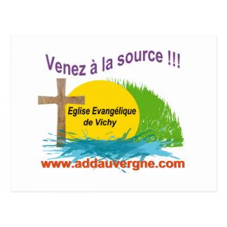Logo ADD  Eglise Evangélique Postcard