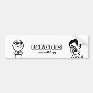 Logo and Characters Bumper Sticker