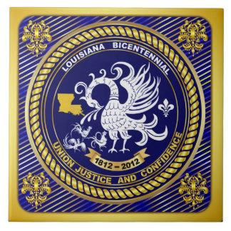 Logo Bicentennial  Mardi Gras Party See Notes Ceramic Tile