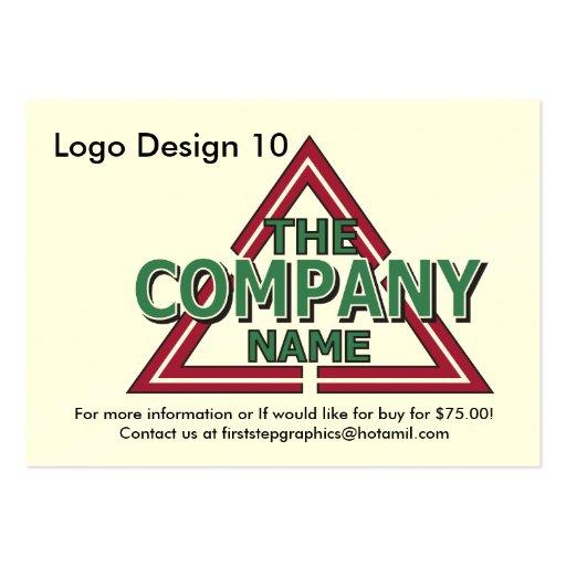 Logo Design 10 Business Card Template