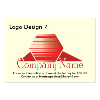 Logo Design 7 Pack Of Chubby Business Cards