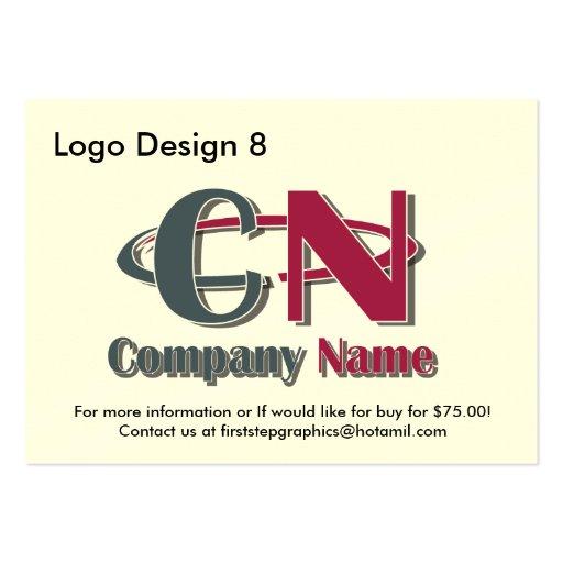 Logo Design 8 Business Cards