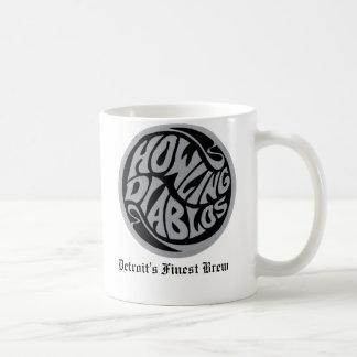 logo, Detroit's Finest Brew Basic White Mug