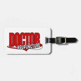 LOGO DOCTOR ACUPUNCTURE LUGGAGE TAG